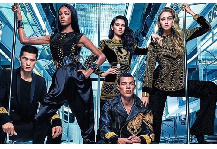 BALMAIN X H&M- THE EXPERIENCE