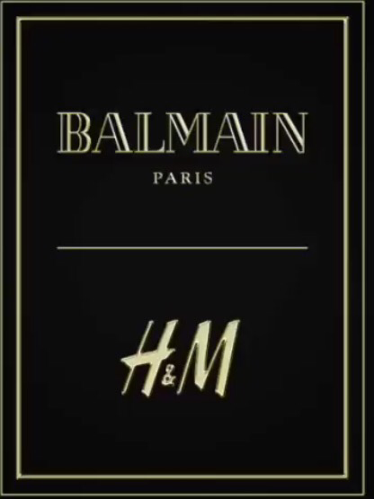 SPOILER ALERT: FACES OF H&M X BALMAIN