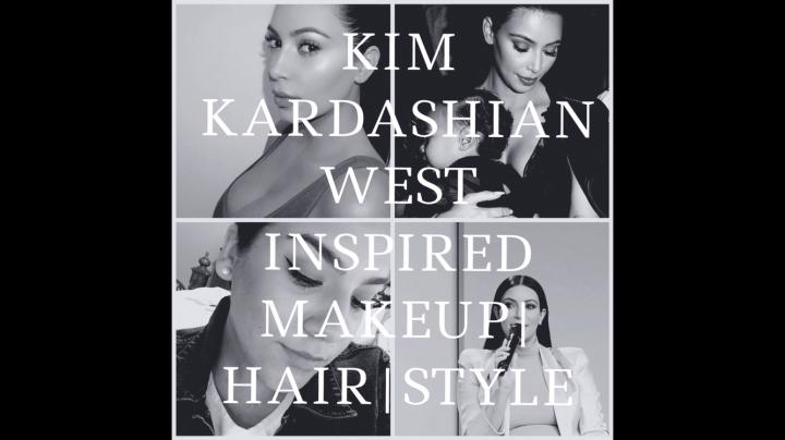 KIM KARDASHIAN INSPIRED | MAKEUP, HAIR &STYLE