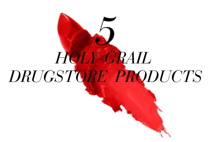 5 HOLY-GRAIL DRUGSTOREPRODUCTS