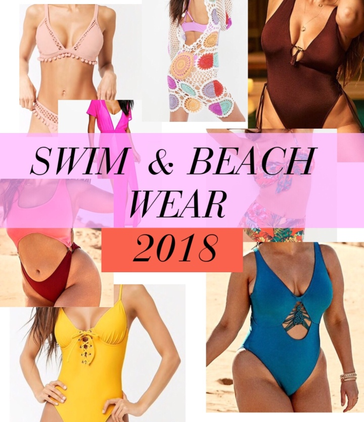 SWIM & BEACH WEAR 2018